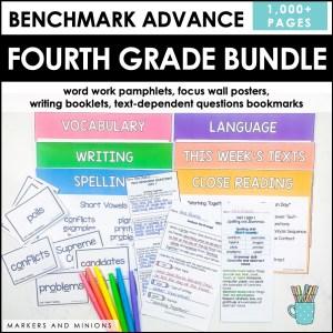 Benchmark Advance Fourth Grade Bundle