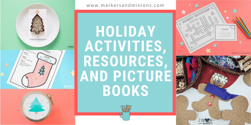 Holiday Activities, Resources, and Picture Books