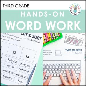 benchmark advance word work activities