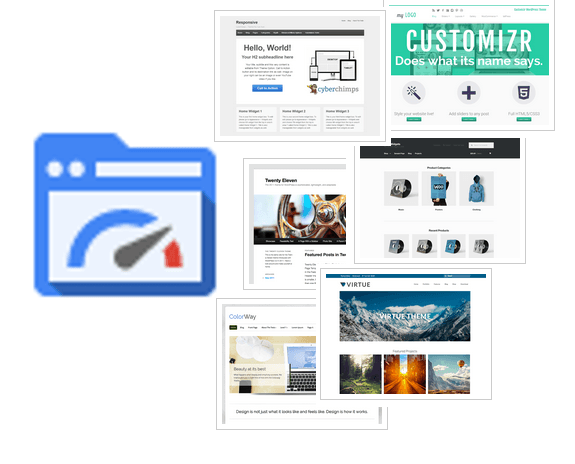 google page speed insights wordpress themes