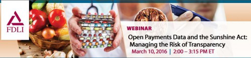 Pharma Compliance Info Mining Open Payments Spend Data: Managing the Risk of Transparency US Sunshine Act