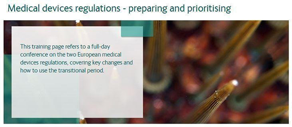Pharma Compliance Info Medical devices regulations  –  preparing and prioritising Marketing & Market Access
