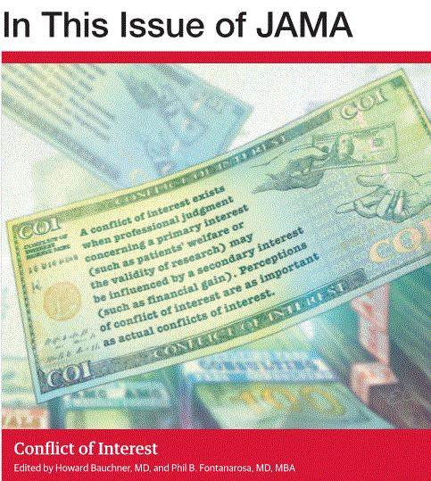 Pharma Compliance Digital CRM Marketing Transparence DMOS JAMA Conflict of Interest JAMA | Conflict of Interest: Why Does It Matter?