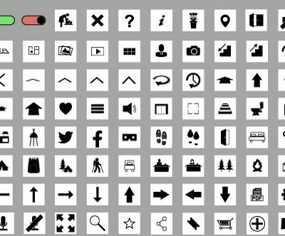 MacNimation Square Set – Black on White