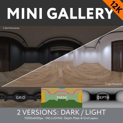 MINI GALLERY - 12K (Dark & Light)