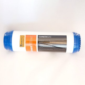 "Green filter cartuccia carbone attivo granulare (GAC) 9-3/4"""