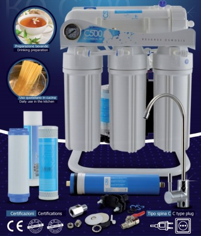 RO C500 direct flow reverse osmosis