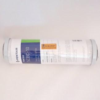"Pentek SCBC-10 Cartuccia Carbon Block battereostatica 2-7/8""x9-3/4"" - 0,5 micron"