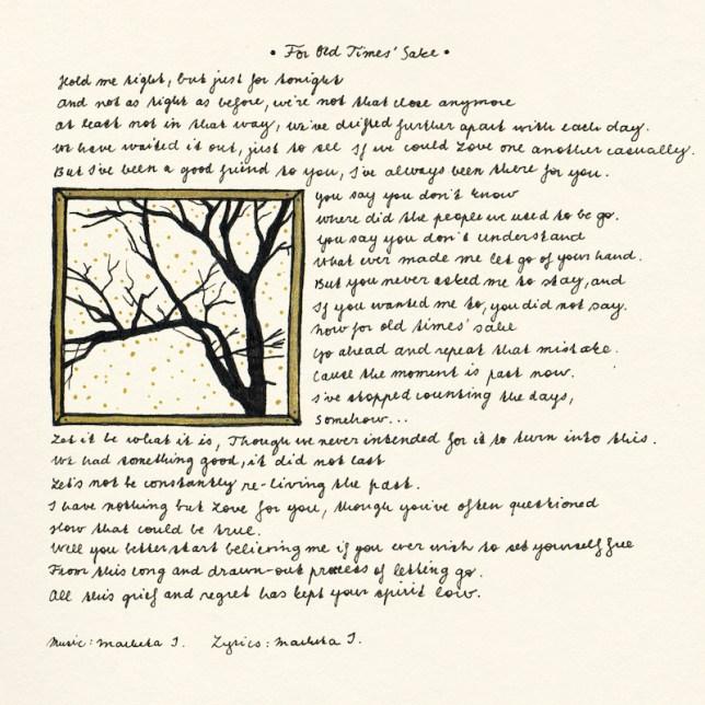 for_old_times_sake_lyrics