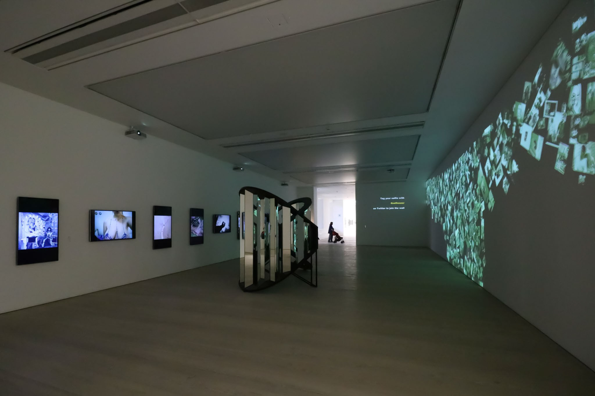 Multimedia Exhibition, Saatchi Gallery, London
