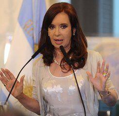 President Cristina Fernández de Kirchner