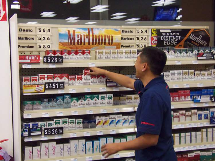 CVS tobacco sales