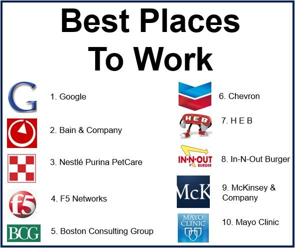 Top companies to work for