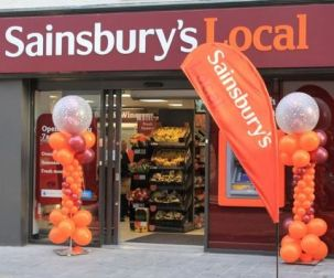 Sainsburys Convenience Store