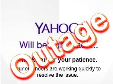 Yahoo Outage
