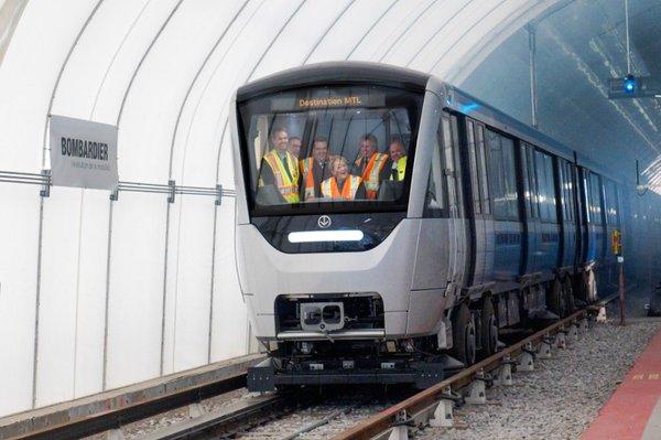AZUR Montreal metro cars