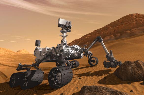 Mars Curiosity Robot