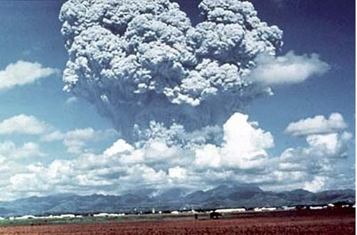 Mount Pinatubo eruption 1991