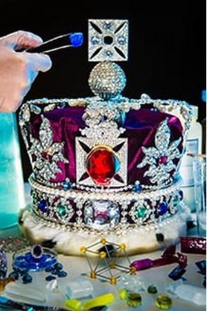 Mounting replica jewels