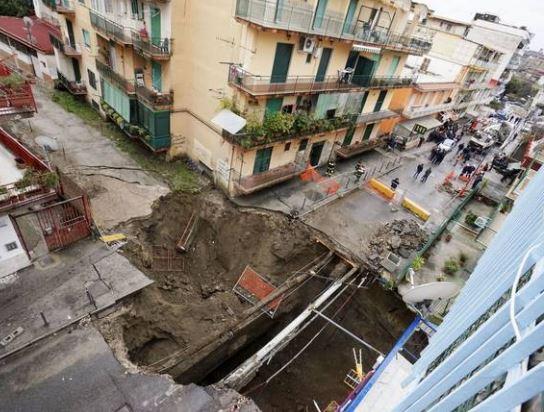 Sinkhole Naples