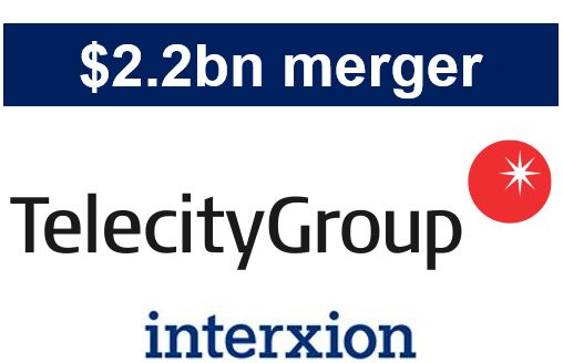 Telecity and Interxion