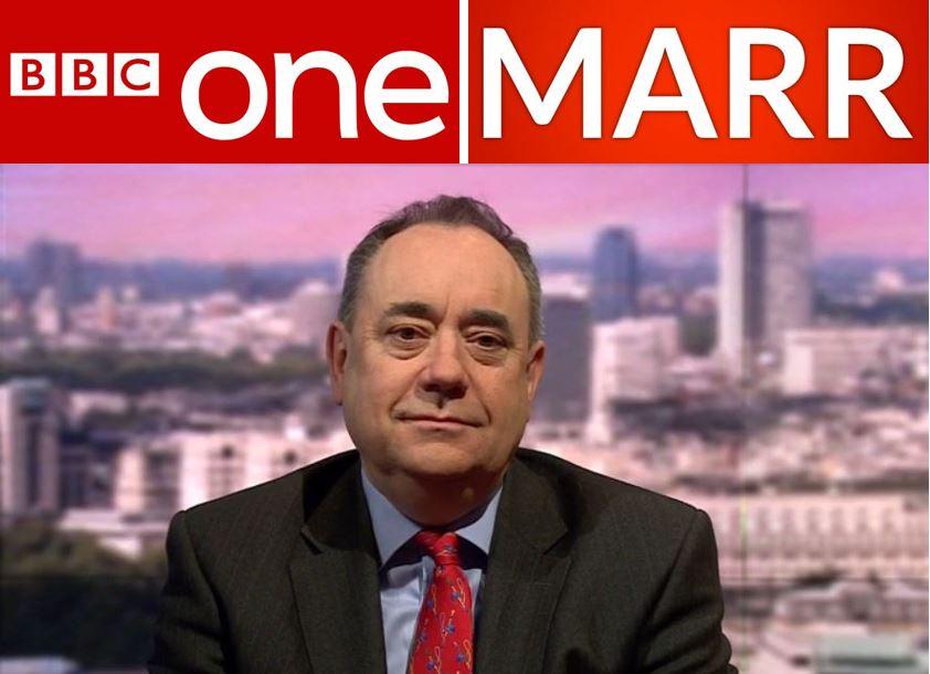 Alex Salmond Andrew Marr Show