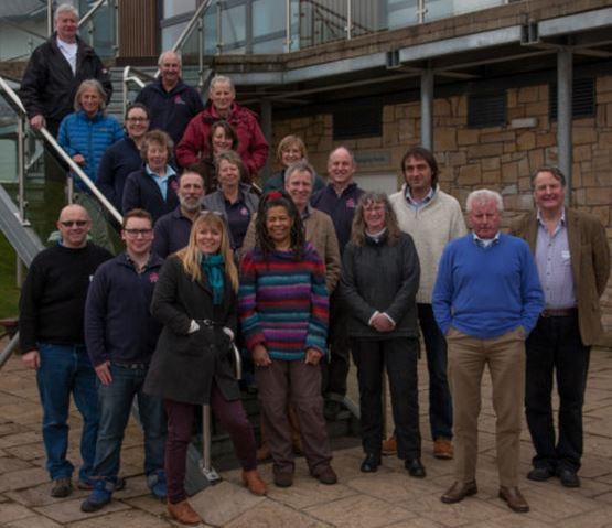 COAST staff and volunteers