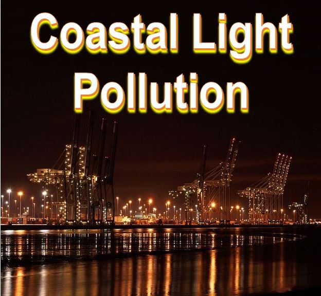 Coastal light pollution Southampton