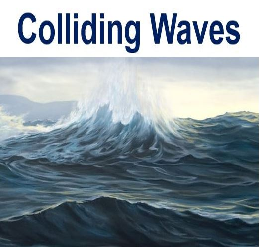 Colliding waves cause hum