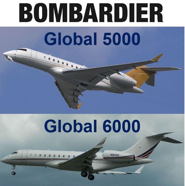 Bombardier Jets