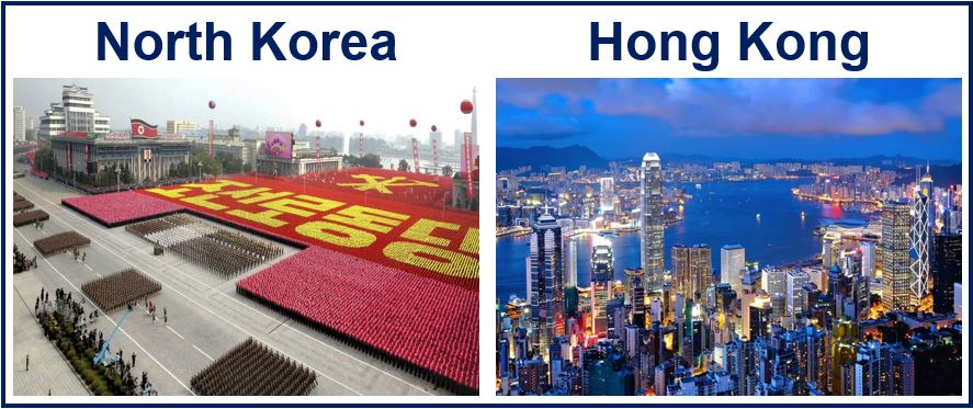 North Korea and Hong Kong