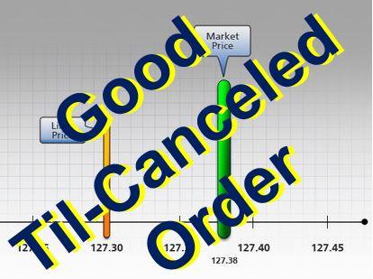 Good Til-Canceled Order