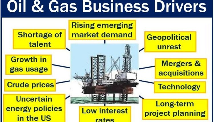 Business Driver in the oil and gas industry