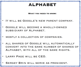 Alphabet google parent company