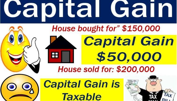Capital gain - it is taxable