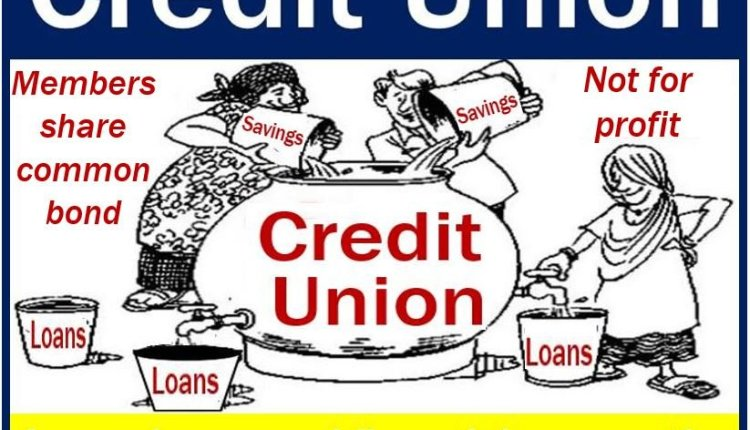 Credit union - image with features and definition