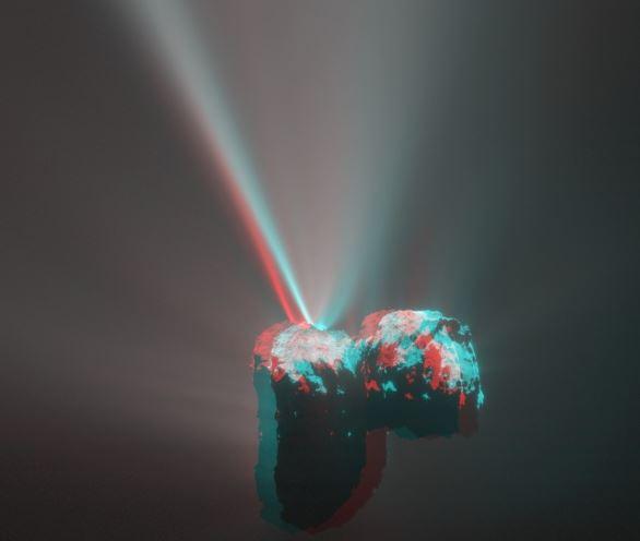 Comet in 3D