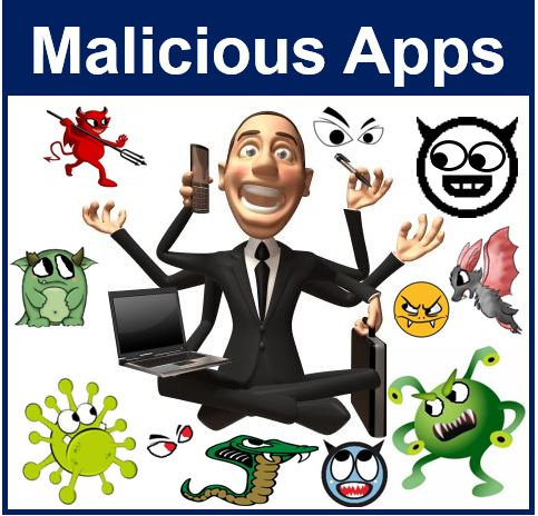 Malicious apps