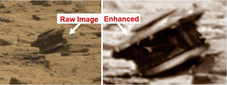 Drone on Mars
