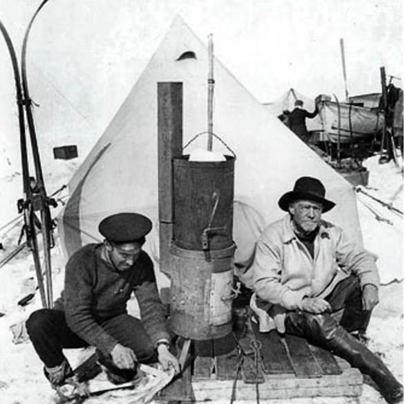 Hurley and Shackleton