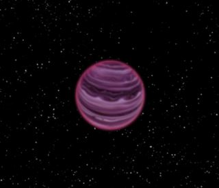Molten iron rain planet