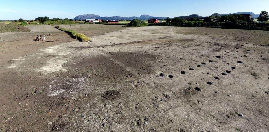 Excavation site Viking settlement