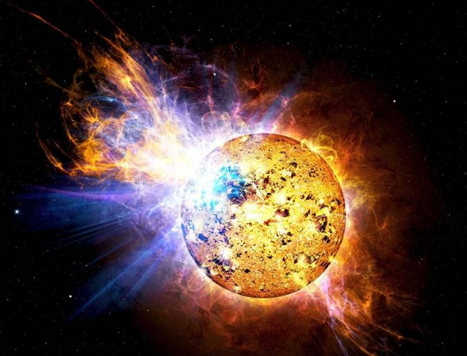 stellar superflare solar superflare