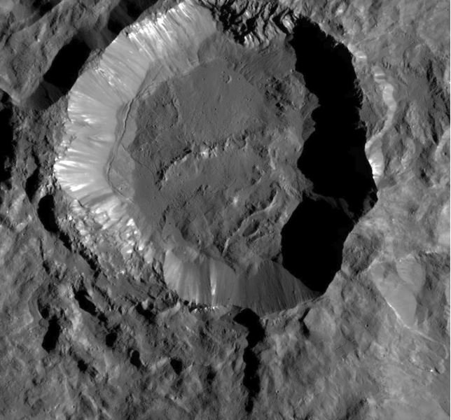 Crater on Ceres