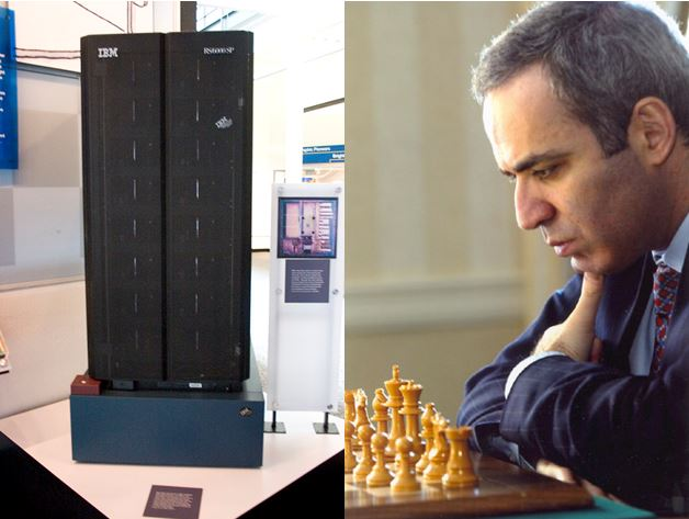 IBM computer beats Kasparov at chess