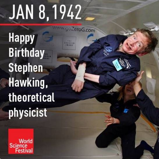 Stephen Hawking Birthday