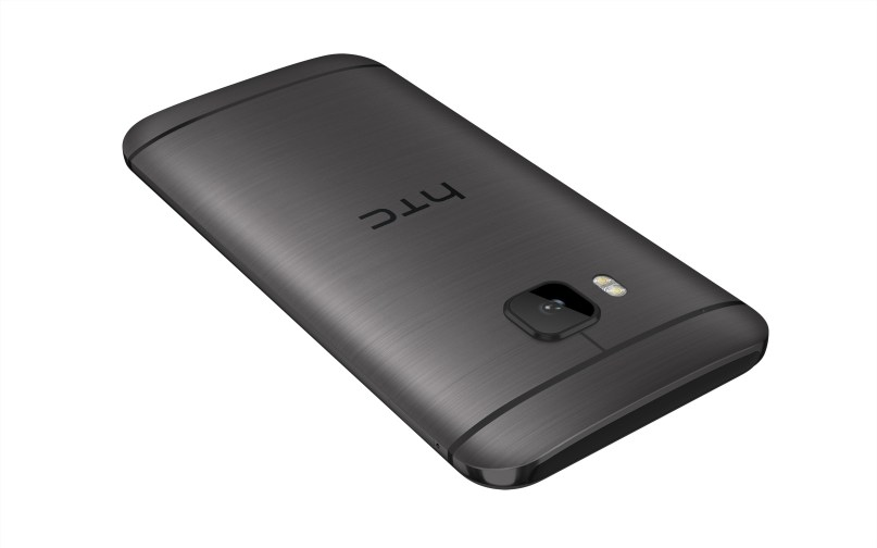 HTC One M9_Gunmetal_Back