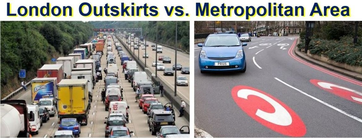 London Outskirts vs Metropolitan Area