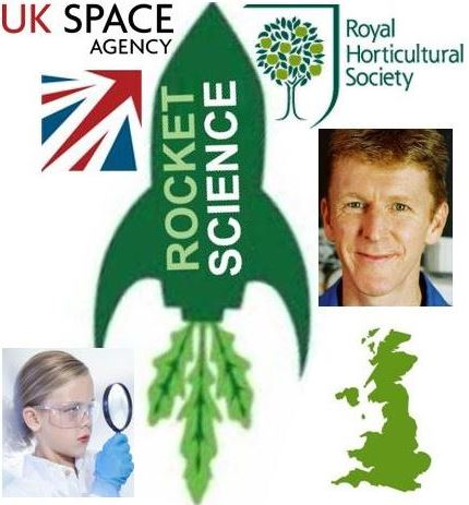 Rocket science space gardening project