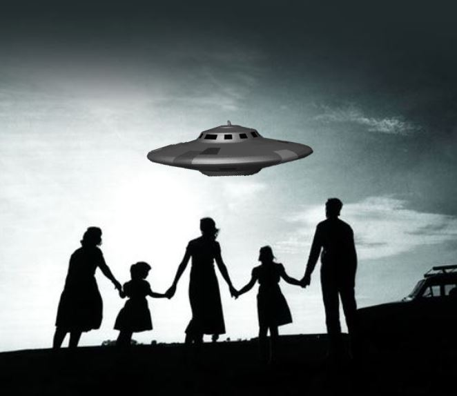 UFO sighting by a family